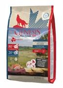 Генезис Великая Прерия для взрослых собак с чувствительным пищеварением с курицей, буйволом и перепелками / Genesis Pure Canada Grand Prairie