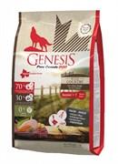 Генезис Широкая страна для пожилых собак для с мясом гуся, фазана, утки и курицы / Genesis Pure Canada Wide Country
